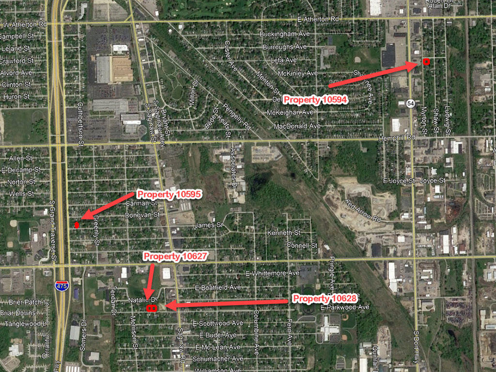 Intermediate Pack of Four Residential Parcels in Burton Michigan - Image 2