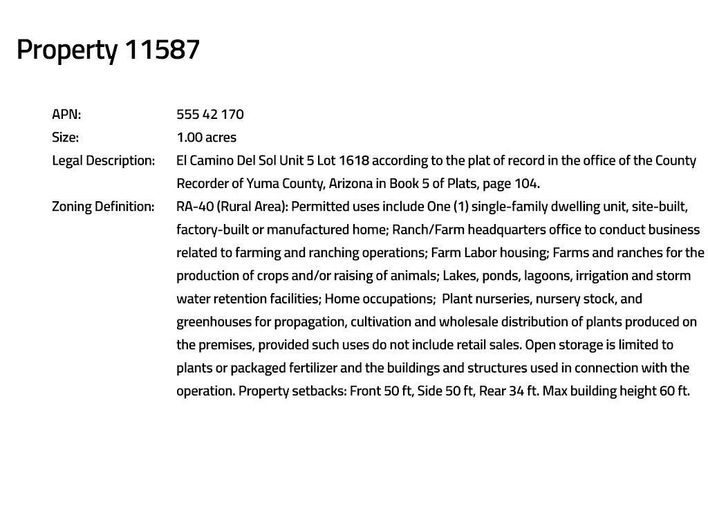 Six Desert Acres in Southwest Arizona For the Intermediate Investor - Image 12