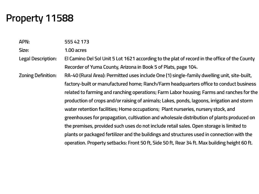 Six Desert Acres in Southwest Arizona For the Intermediate Investor - Image 14