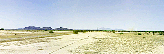 Cleared Desert Land in Arizona City Rural Countryside