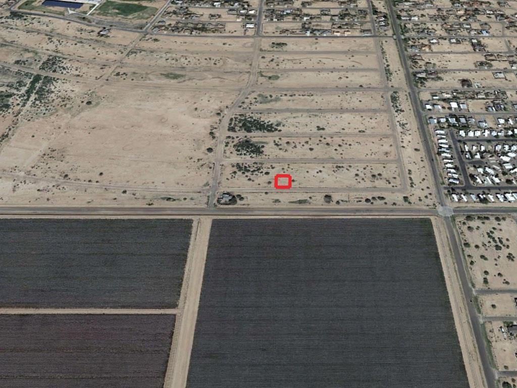 Cleared Desert Land Near Santa Cruz River - Image 3