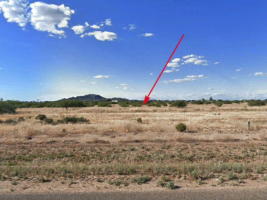 Cleared Desert Land Near Santa Cruz River - Image 1