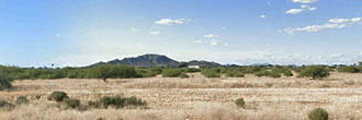 Cleared Desert Land Near Santa Cruz River