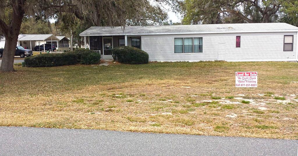 Corner Mobile Home Lot in Leesburg Florida - Image 4