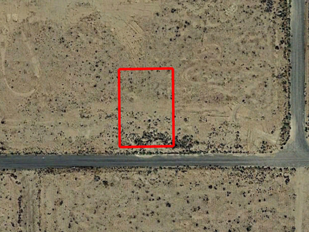 Near Quarter Acre Cleared Lot Outside California City - Image 1