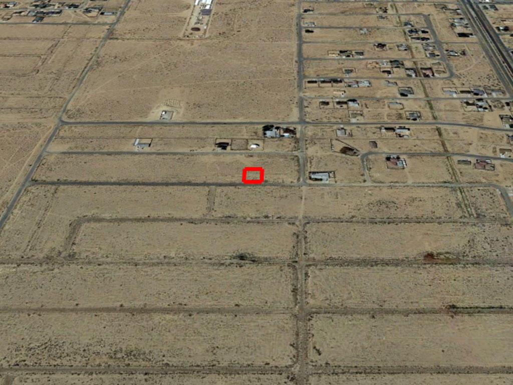 Near Quarter Acre Cleared Lot Outside California City - Image 2
