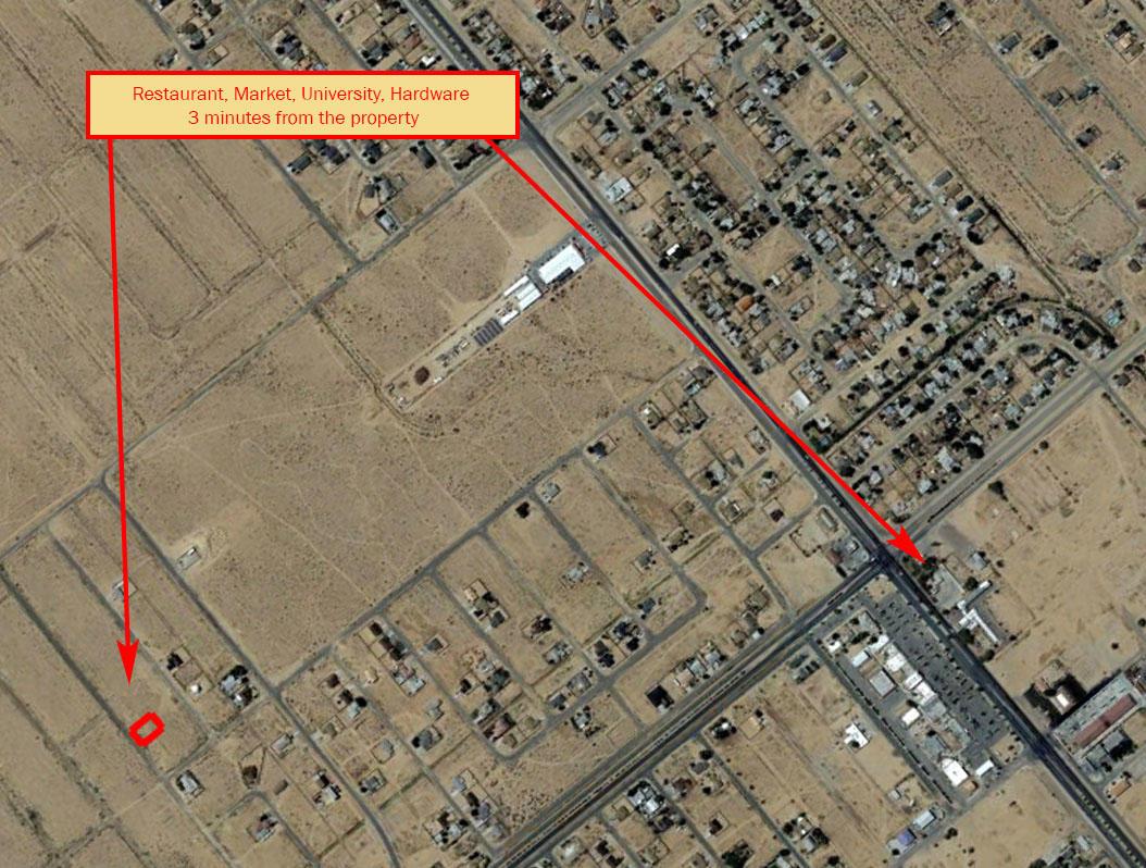 Near Quarter Acre Cleared Lot Outside California City - Image 5