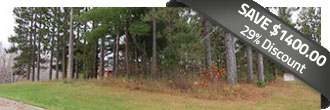 Beautiful Corner Lot on 1 Acre of South Shore Land