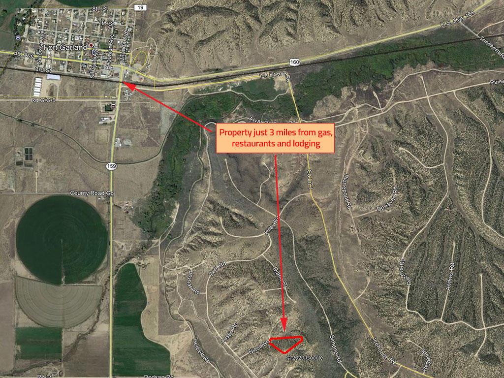 Over 5 Acres of Land South of Colorado Springs - Image 2