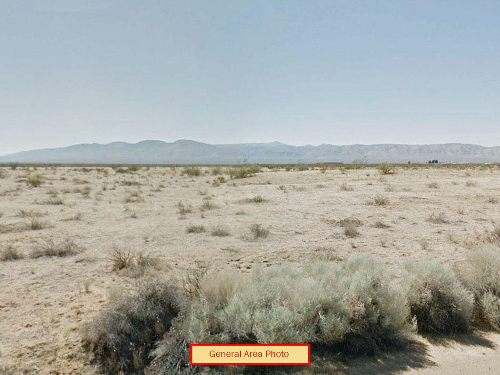 Explore the Options for this Lot in Quiet Area of California City - Image 3