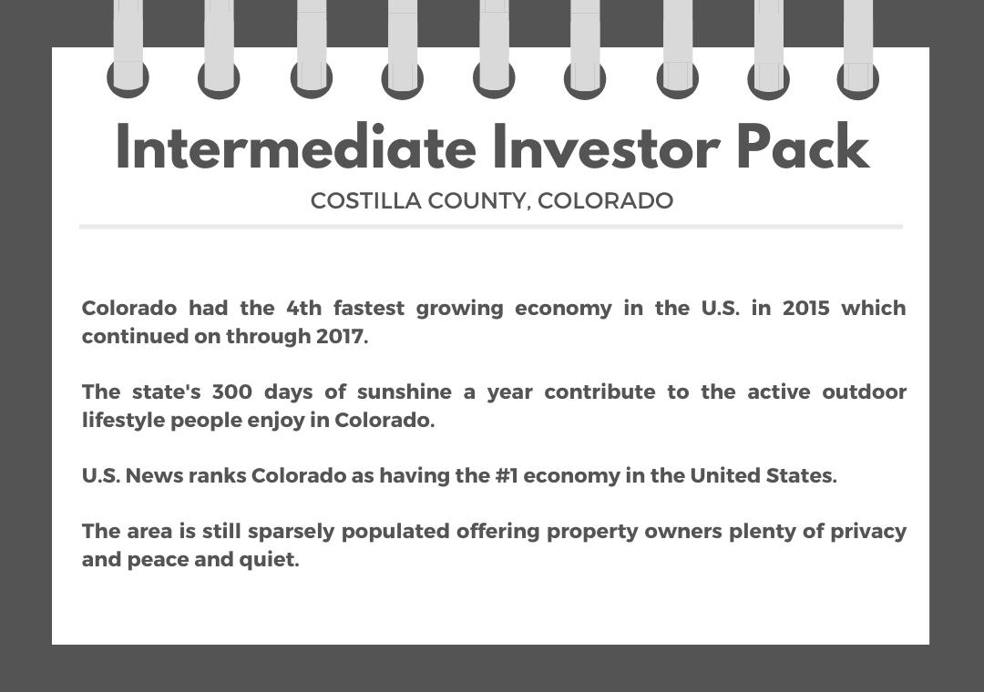 Intermediate Colorado Investor Pack with Breathtaking Mountain Views - Image 0