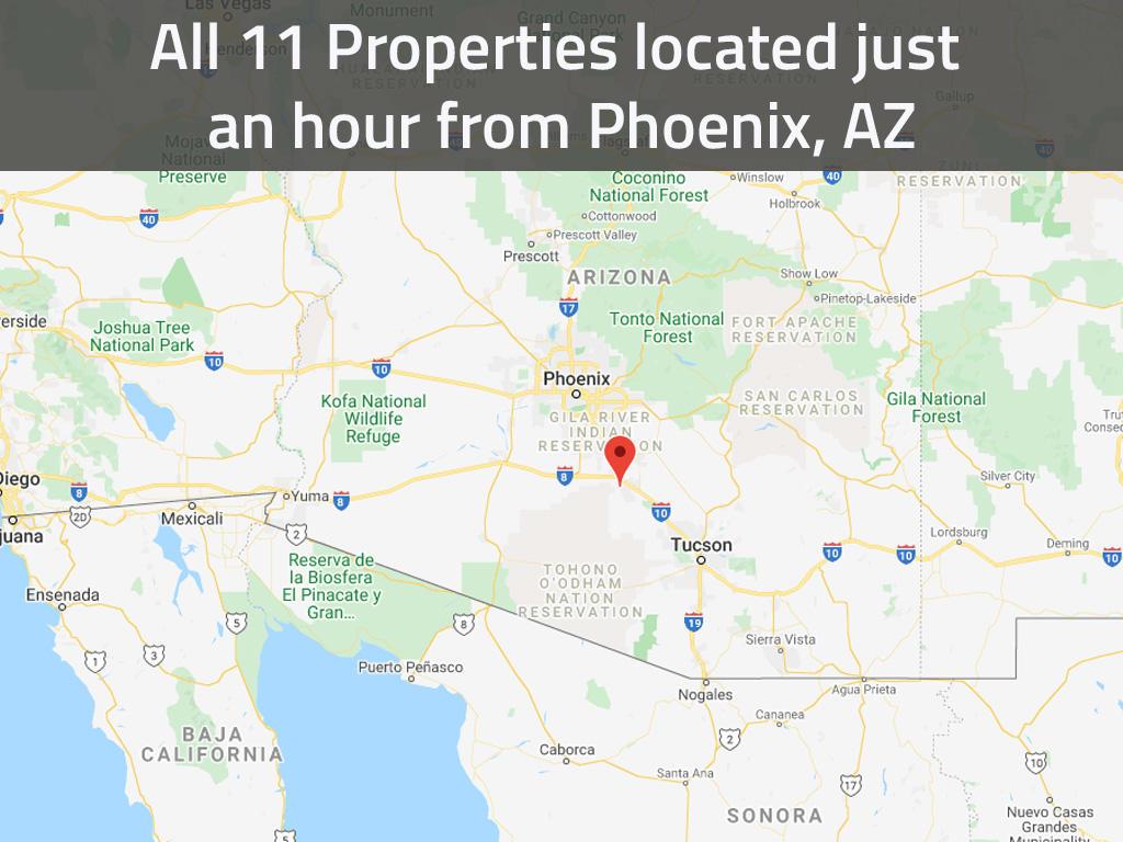 Beginner Pack of Over Ten Arizona Investment Lots - Image 1