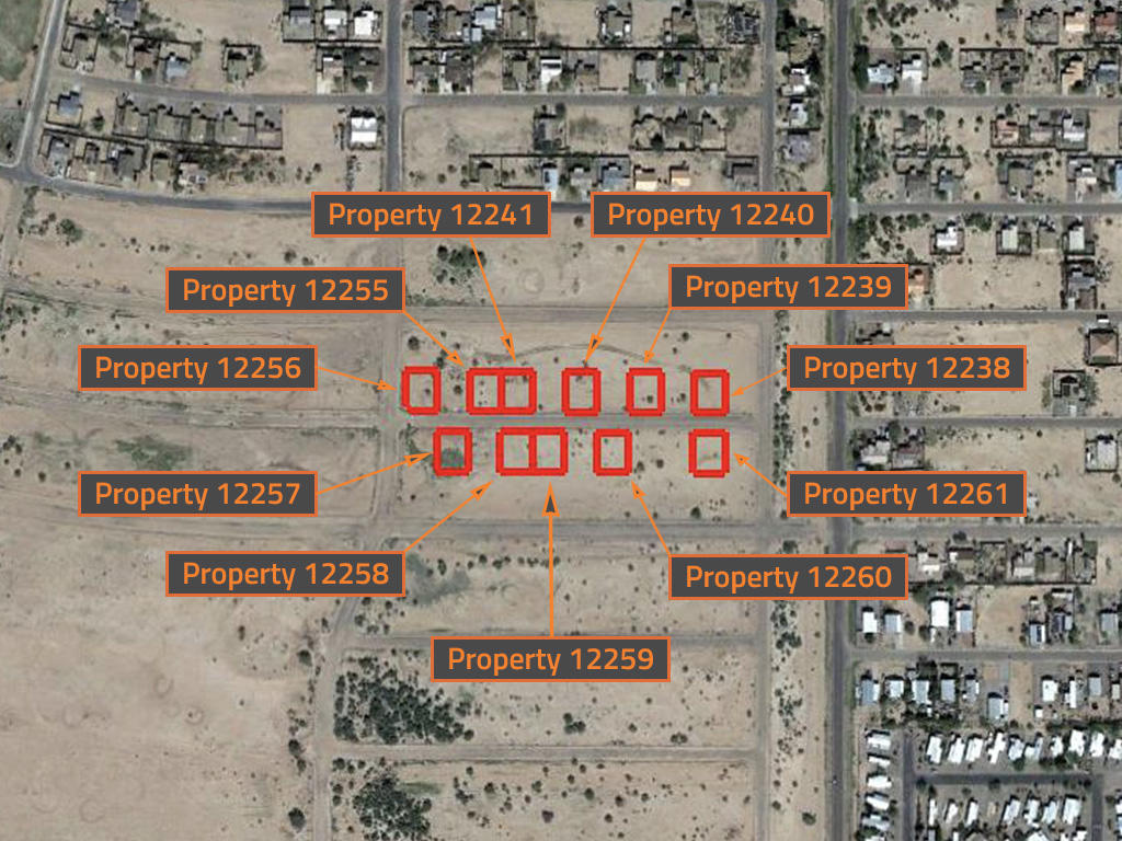 Beginner Pack of Over Ten Arizona Investment Lots - Image 2