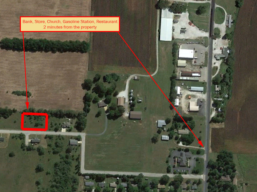 Double Lot Surrounded by Farmland in Rural Midwest - Image 5