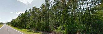 Over 1 Acre Quiet lot in Starke Florida