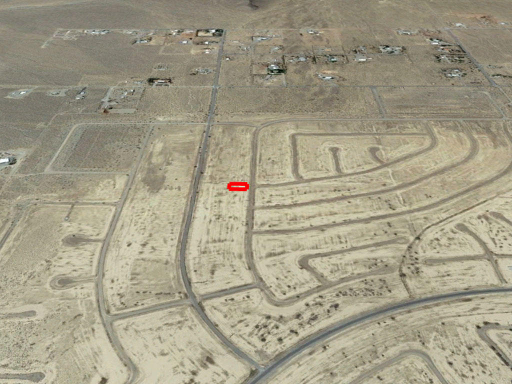 Quarter acre cleared lot outside Pahrump - Image 2