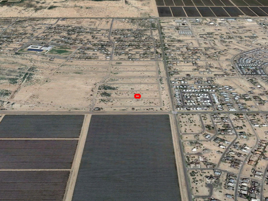 Rapidly Developing Area Flat Lot Located in Arizona City - Image 2