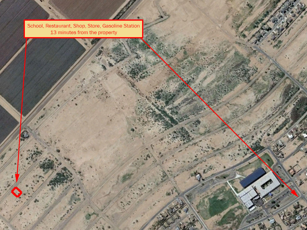 Rapidly Developing Area Flat Lot Located in Arizona City - Image 5