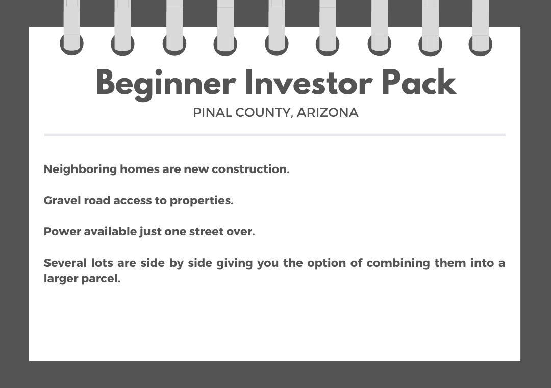 Beginner Pack of Seven Arizona Invesment Lot - Image 0