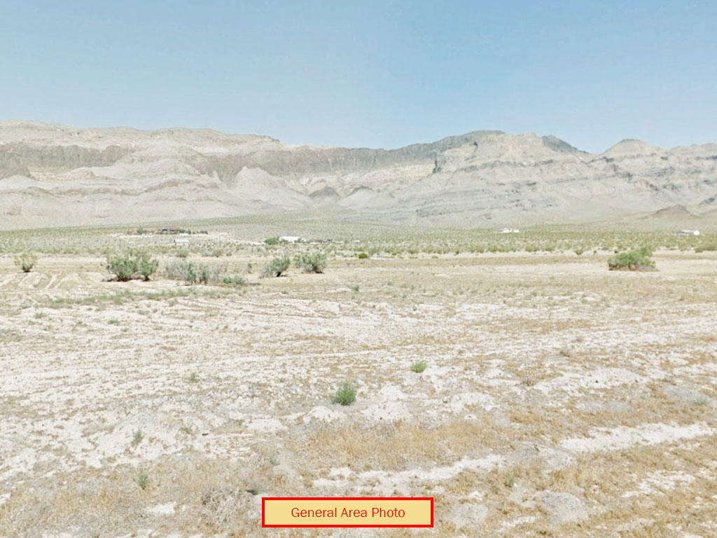 Quarter acre cleared lot outside Pahrump - Image 0