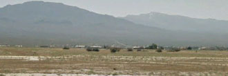 Quarter acre cleared lot outside Pahrump