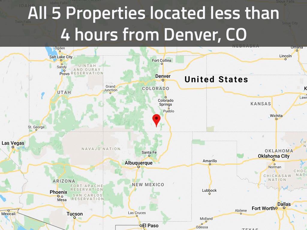 Intermediate Investor Pack of Five Lots in Beautiful Rural Colorado - Image 1