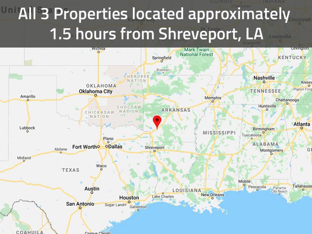 Beginner Investor Pack of Three Residential Arkansas Lots - Image 1