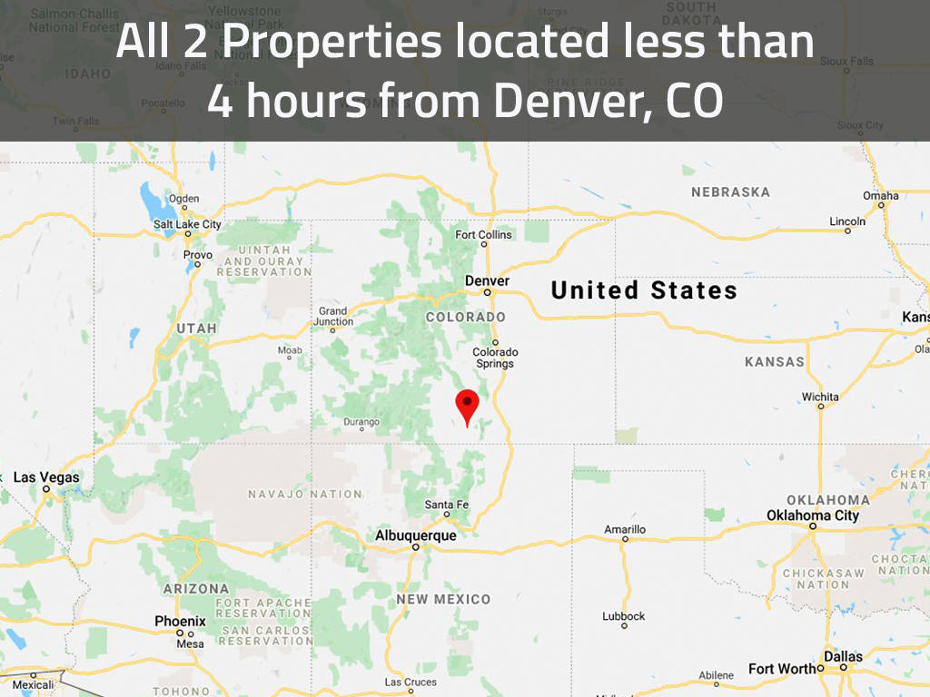 Beginner Investor Pack of Two Colorado Acreage Lots - Image 1