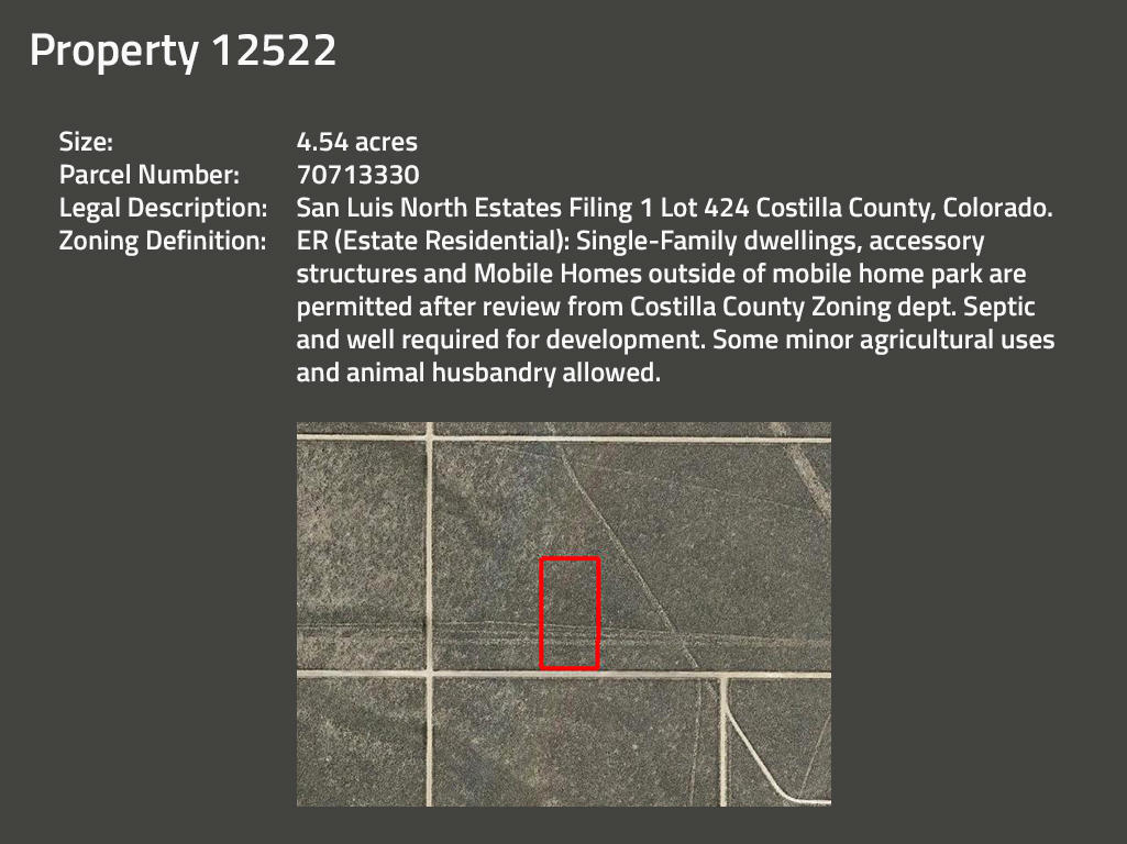 Beginner Investor Pack of Two Colorado Acreage Lots - Image 3