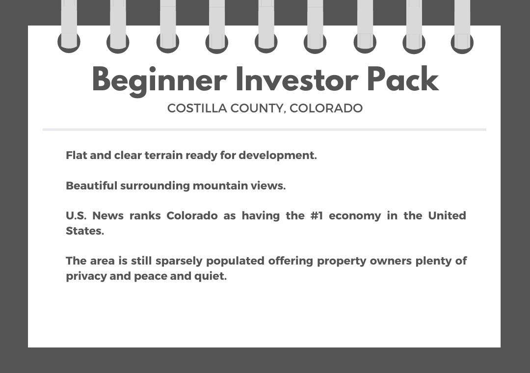 Beginner Investor Pack of Two Colorado Acreage Lots - Image 0