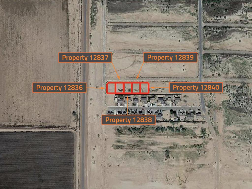 Intermediate Arizona Investor Pack of Five Side By Side Lots - Image 2