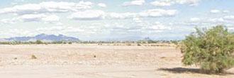 Arizona City, Arizona Property Prepped for Developing