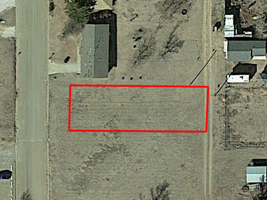 Residential Tulia Texas Land on Paved Road - Image 1