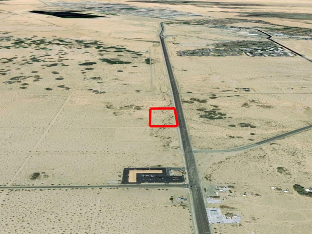 Twentynine Palms Acreage on a Paved Road - Image 2