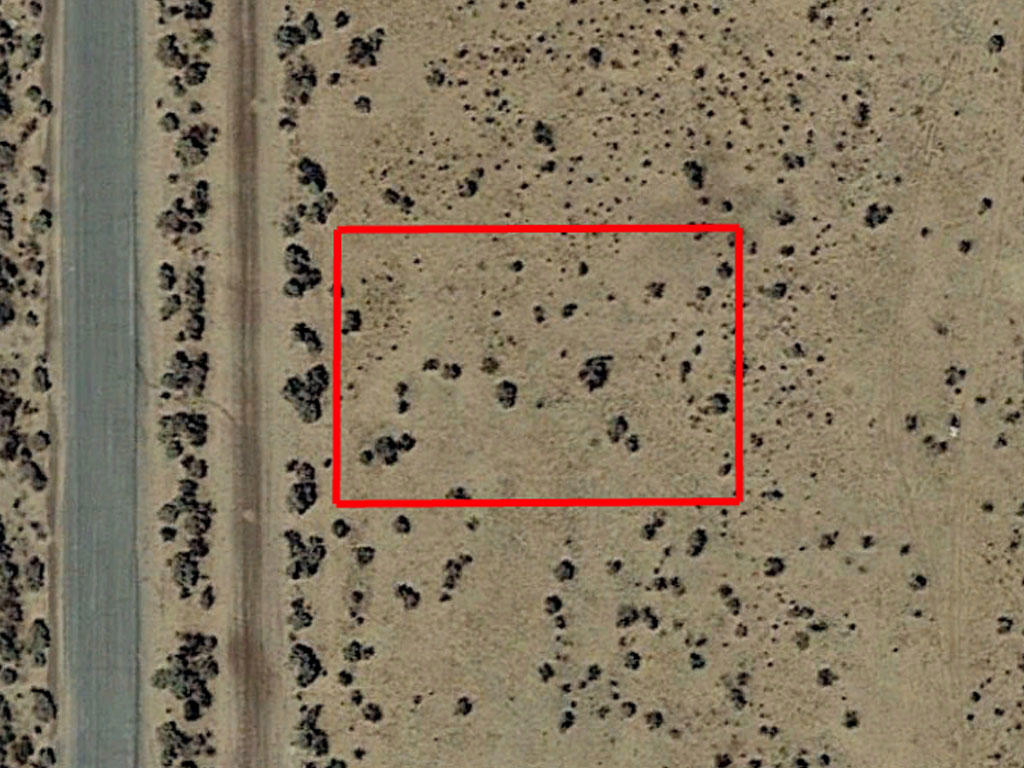 Investment Lot on the Outskirts of California City - Image 1