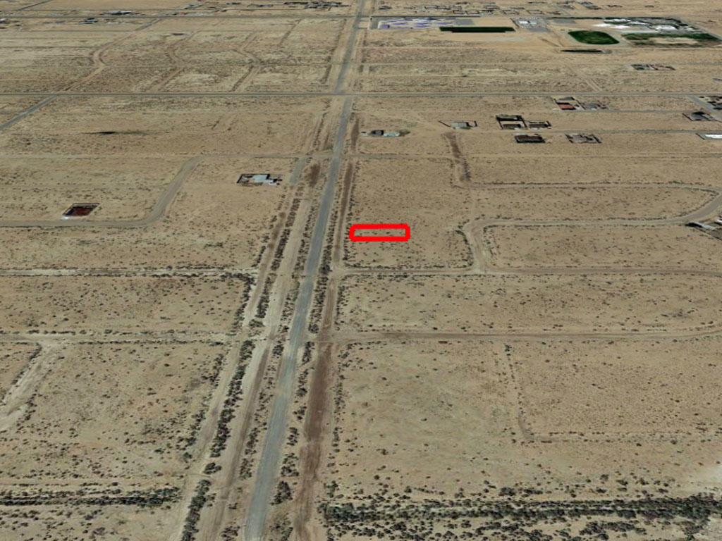 Investment Lot on the Outskirts of California City - Image 2