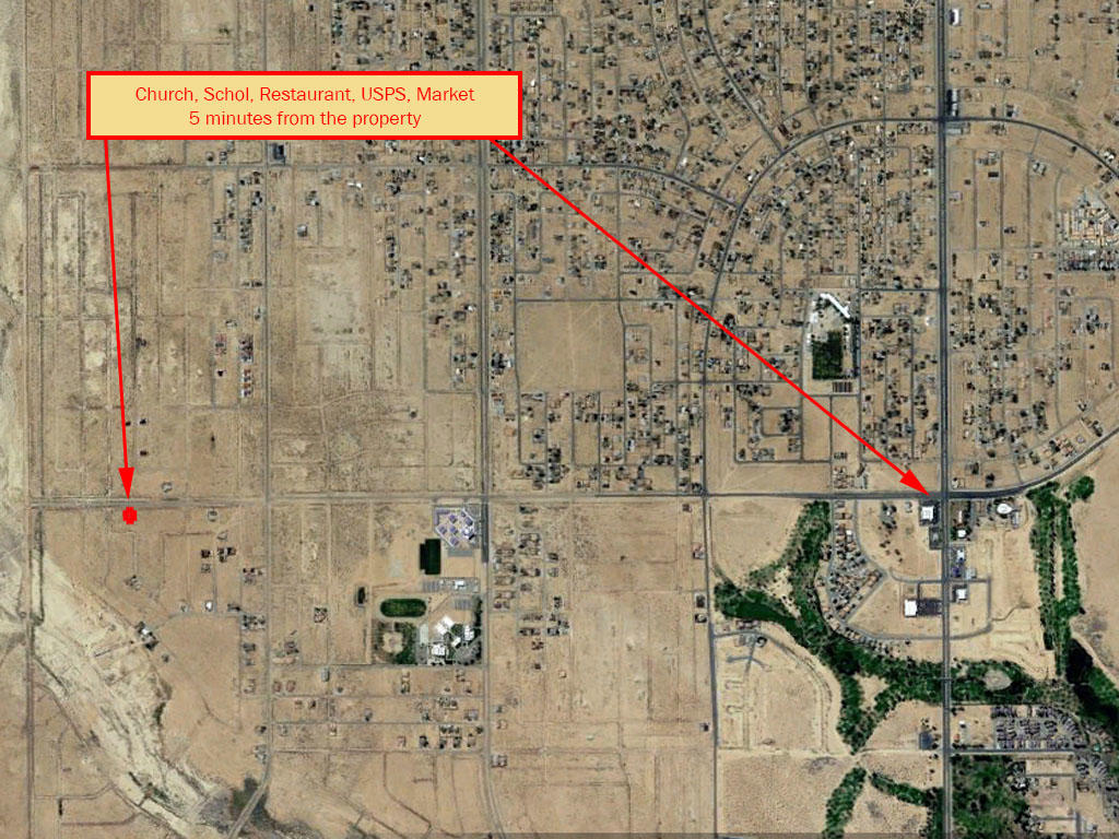 Investment Lot on the Outskirts of California City - Image 5