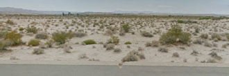 Twentynine Palms Acreage on a Paved Road