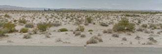 Twentynine Palms Acreage on a Paved Road