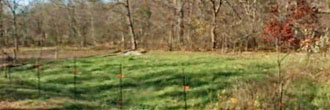 Over a quarter of an acre an hour from St. Louis, Missouri