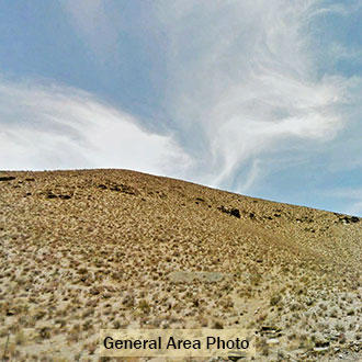 Ten big acres near California City with access 200 feet away - Image 1