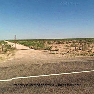 Flat Five Acre Expanse a short distance off road, 1 hour from Odessa - Image 1