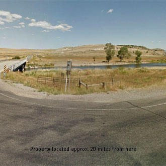 Sloped Montana acreage with road access 500 feet away - Image 1