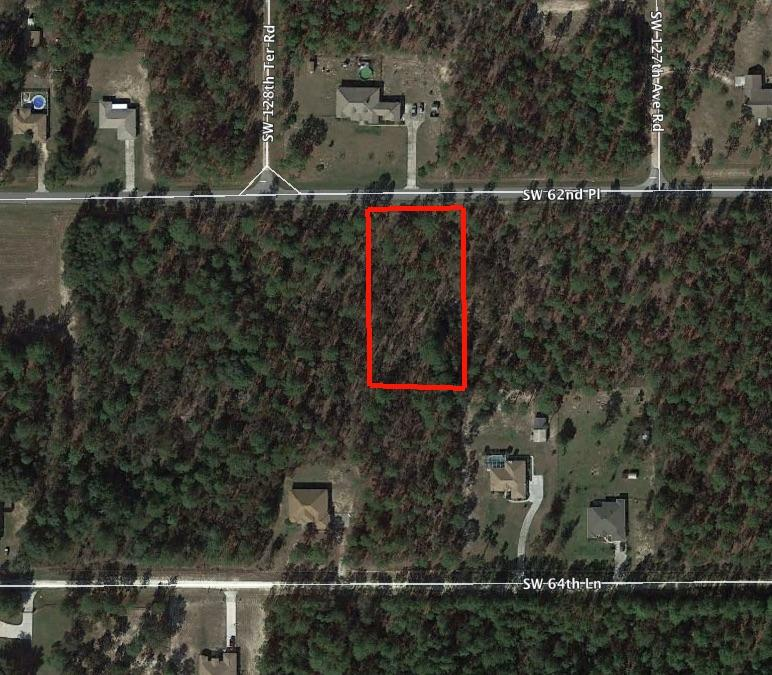 Over An Acre Property off of SW 62nd Place - Image 1
