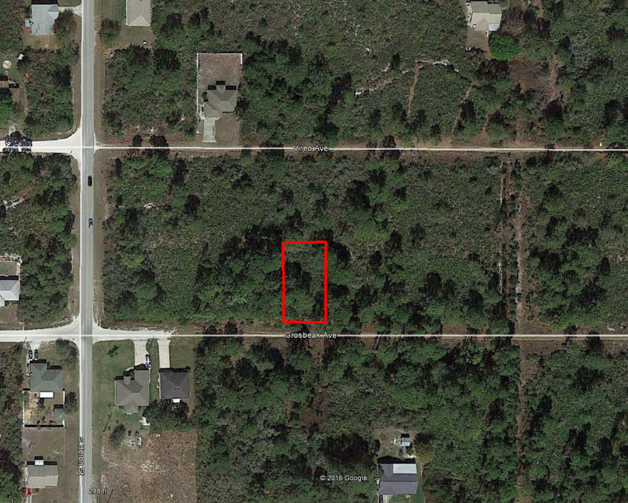 Small Residentially Zoned Lot in Sebring Florida - Image 1