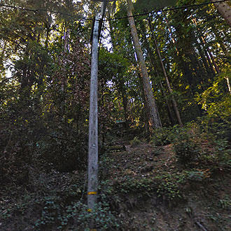 Steep California Property off Highway Nine - Image 1