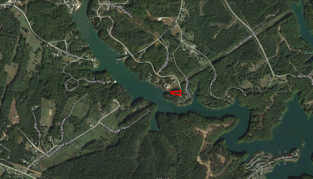 Half Acre Lot on Lake Keowee inside of Waters Edge Subdivision - Image 3