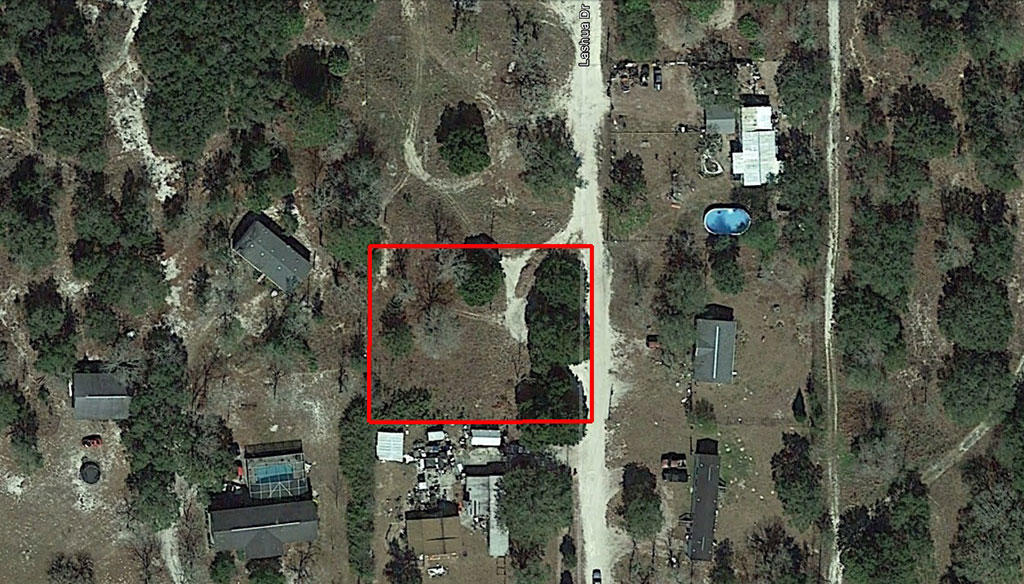 Enjoy Rural Living on this Half Acre Property with Power - Image 1