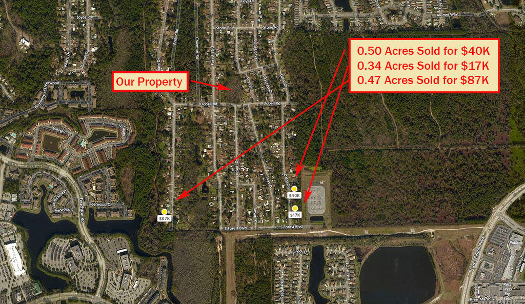 Large Acreage Land in Jacksonville - Image 4