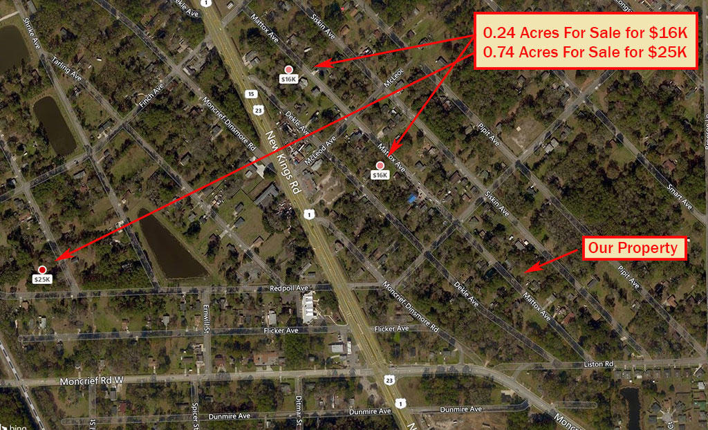 Quarter of an Acre in Jacksonville with Access to all Utilities - Image 2